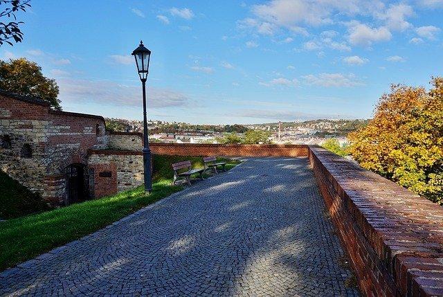 Cinta muraria della Fortezza di Vysehrad
