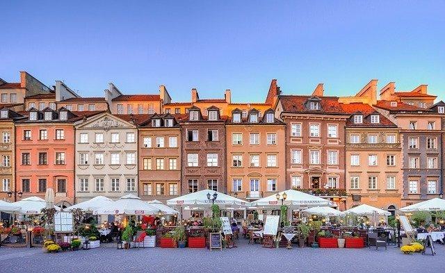 la città vecchia di Varsavia è una delle migliori cose da fare gratis in città