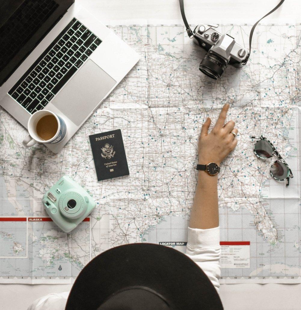 Pianificare dei buoni itinerari è uno dei consigli più importanti quando si deve organizzare un interrail