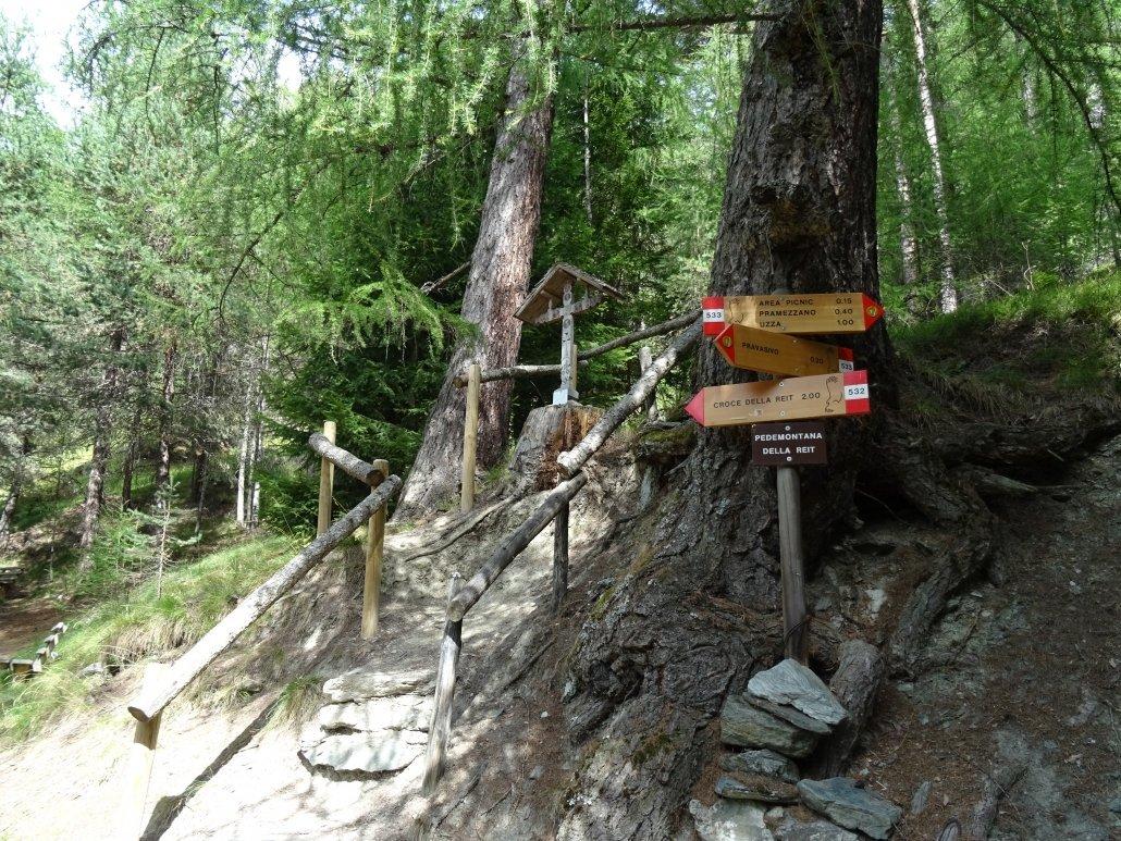 D'estate in Valtellina ci sono diversi sentieri, percorribili anche dalle famiglie con bambini piccoli.