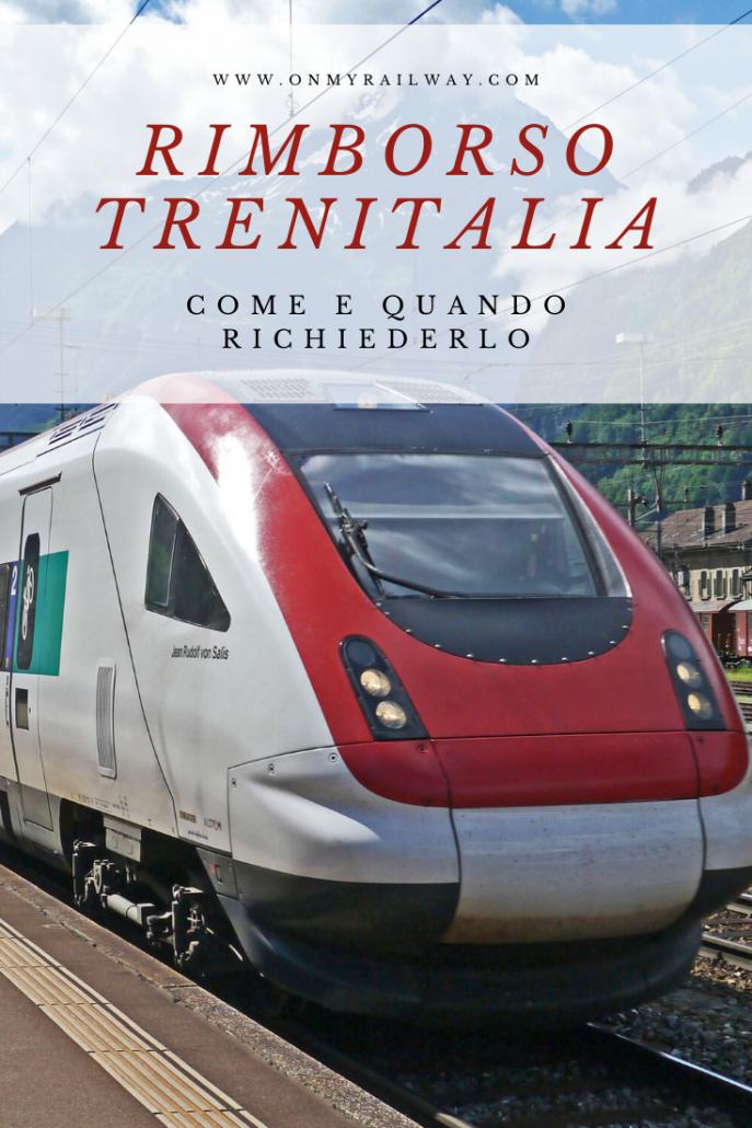 Trenitalia: come chiedere il rimborso del biglietto in caso di rinuncia al viaggio o ritardo del treno
