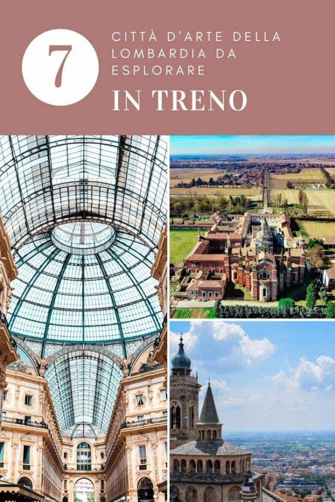 Sette bellissime città d'arte della Lombardia da visitare in treno