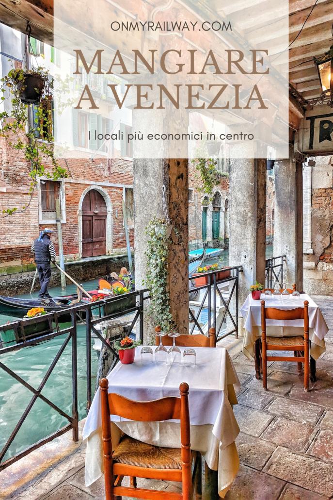 I migliori ristoranti economici dove mangiare a Venezia