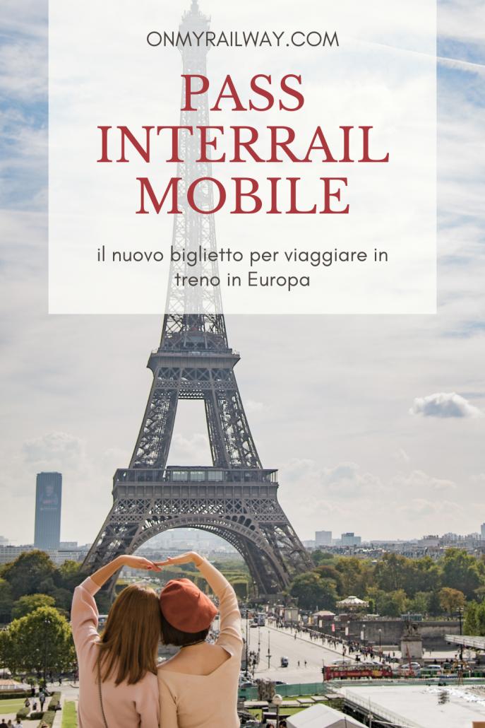 Pass mobile interrail: guida all'uso del nuovo biglietto elettronico per dispositivi mobili