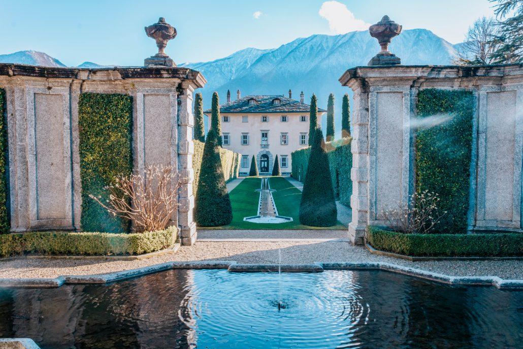 Greenway lago di Como: Villa del Balbiano