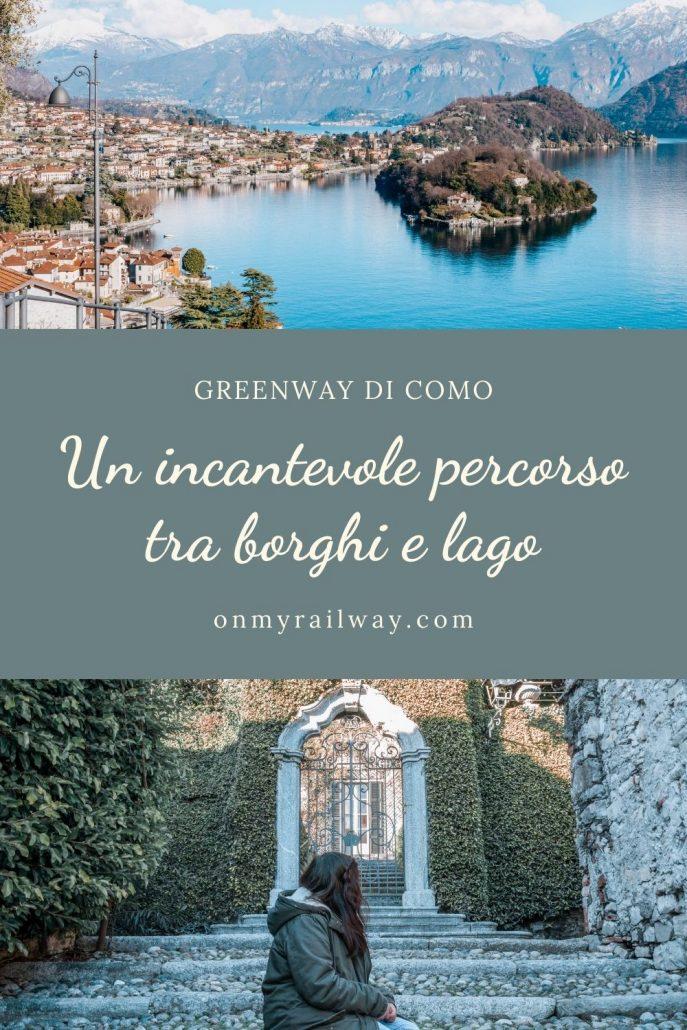 Greenway lago di Como. La passeggiata verde tra borghi e lago
