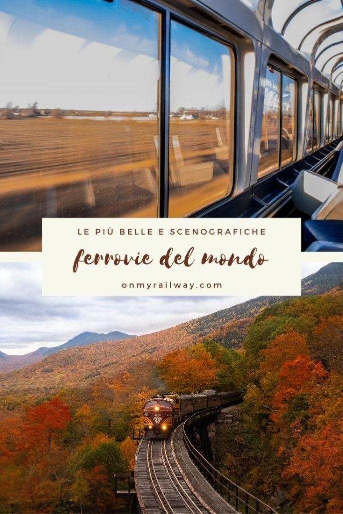 Viaggi in treno panoramici in Europa e nel mondo