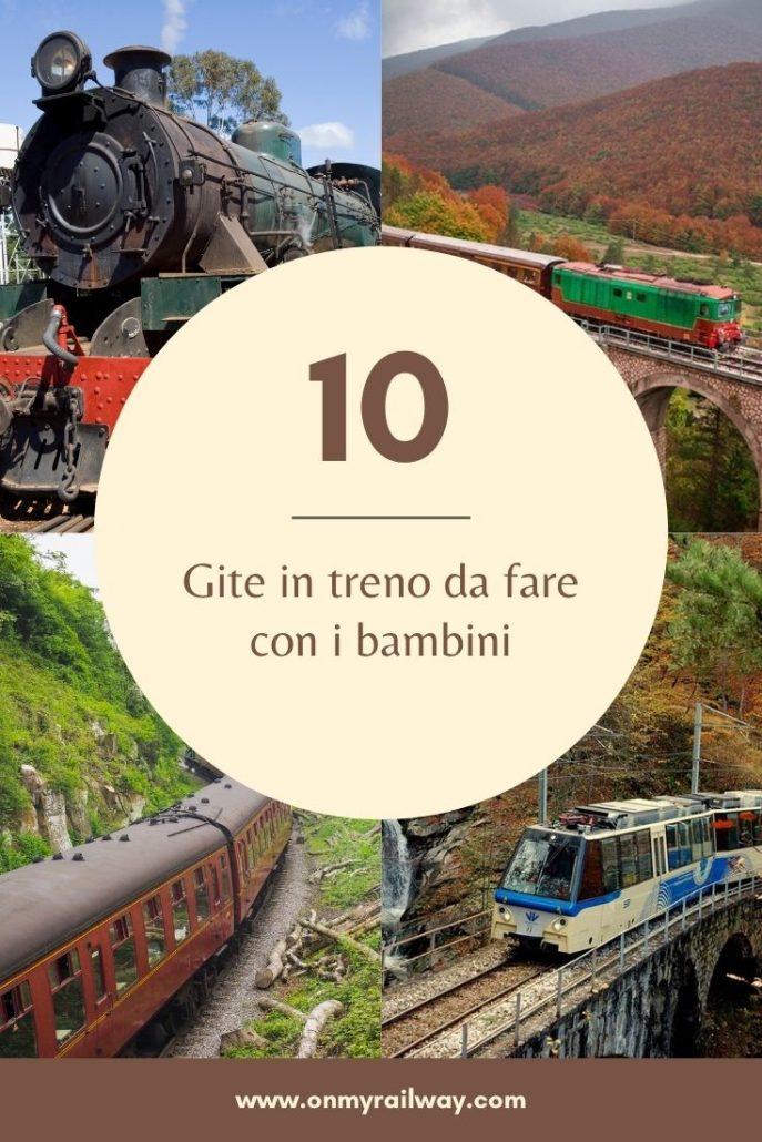 Gita in treno con bambini: 10 idee per tutta la famiglia