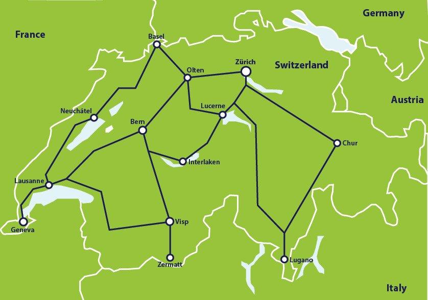 Interrail con bambini: le migliori mete per un viaggio in famiglia
